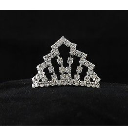 Golden Stella Teeny Tiny Tiara Crystal Clear
