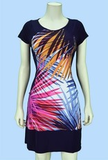 Pretty Woman Solid Sides Dress with Pockets Multi Palm