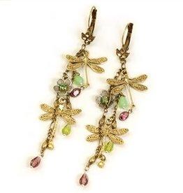 Sweet Romance Dragonfly Dangle Earrings