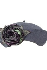 Soft Wool Rose Tam Grey