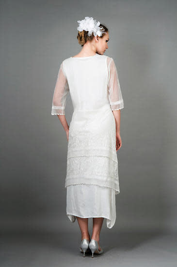 Nataya Titanic Dress Ivory S