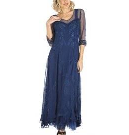 Nataya Royal Blue Dress L