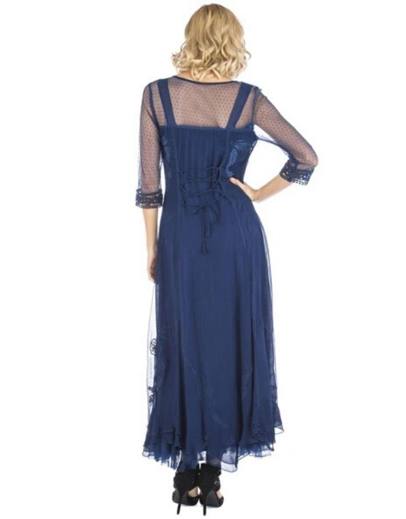 Nataya Royal Blue Dress L