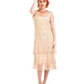 Nataya New Vintage Dress Nude S