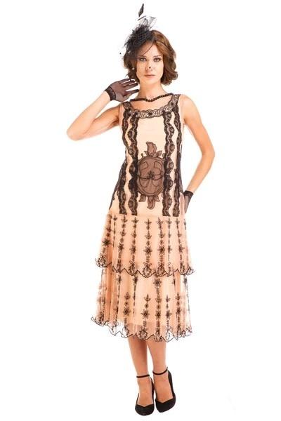 Nataya Peach Dress M