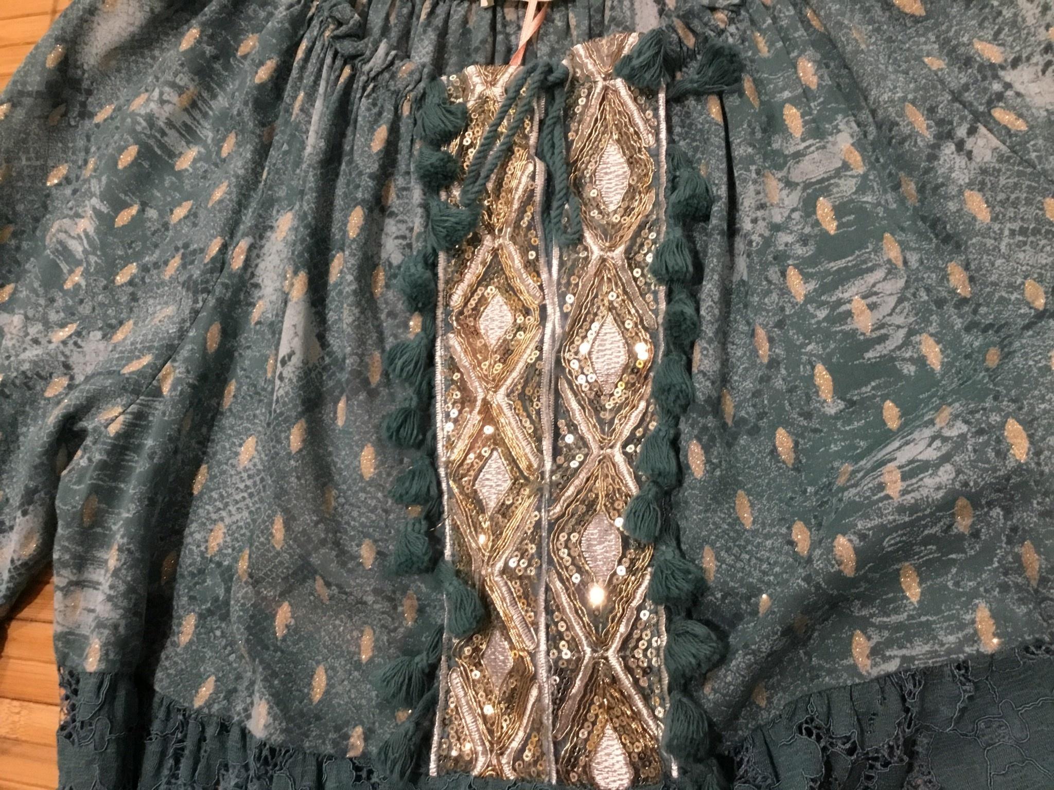 Scandal-Corrida Babydoll Style Italian Tunic - One Size