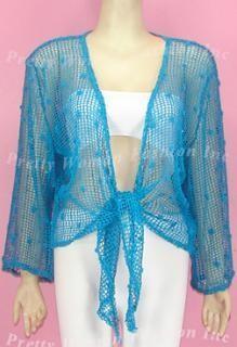 Pretty Woman Fish Net Bolero