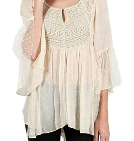 RYU Lace Tunic Top
