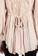 RYU Lace Tunic Top
