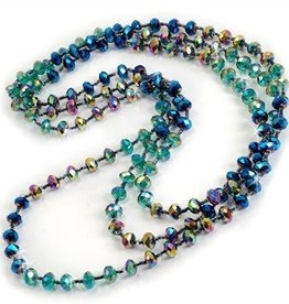 Sweet Romance Crystal Long Beads - Multiple Colors
