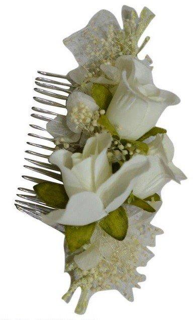 Multi Flower Hair Comb