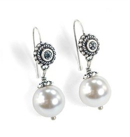 Sweet Romance Laguna Beach Pearl Earrings Ice Pearl