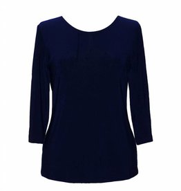 Valentina Signa 3/4 Sleeve Solid Top