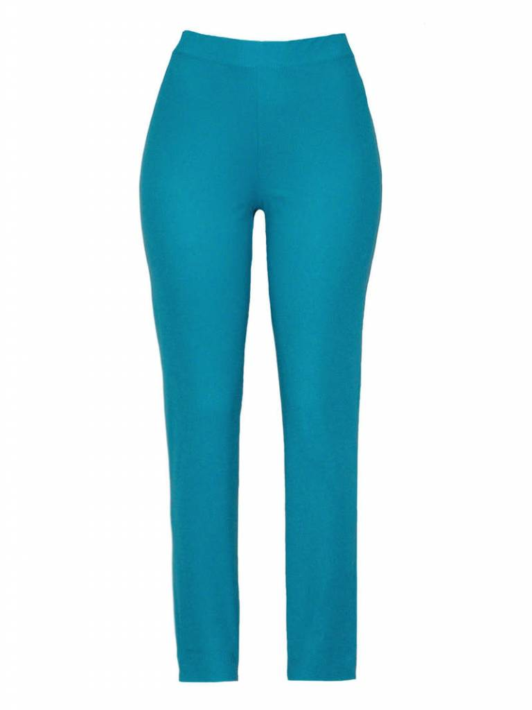 Valentina Signa Stretch Pants - Turquois