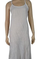 Pretty Angel Crinkle Slip Dress White