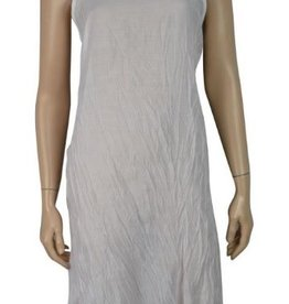 Pretty Angel Crinkle Slip Dress White