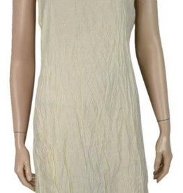 Pretty Angel Crinkle Slip Dress Cream