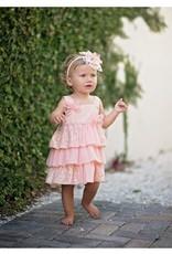 Isobella & Chloe 2pc Ruffles Lace Top with Crop Legging