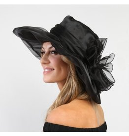 Something Special LA Crushable Med Brim Black Hat