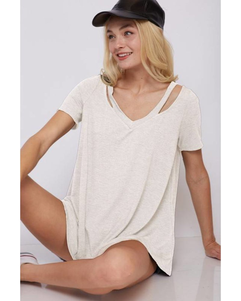 Axel Taupe Tee