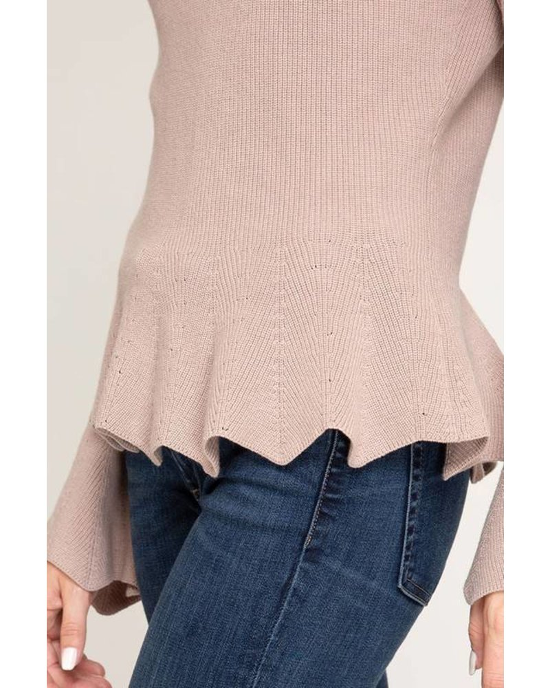 Saila Misty Rose Sweater