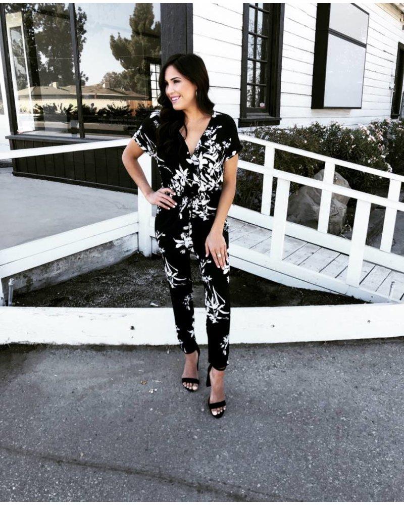 Layla Floral Jumpsuit