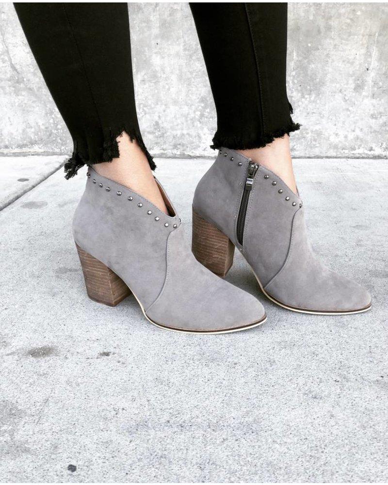 Aspen Grey Bootie