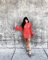 Radd Red Lace Dress
