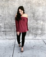 Ultima Red Blouse
