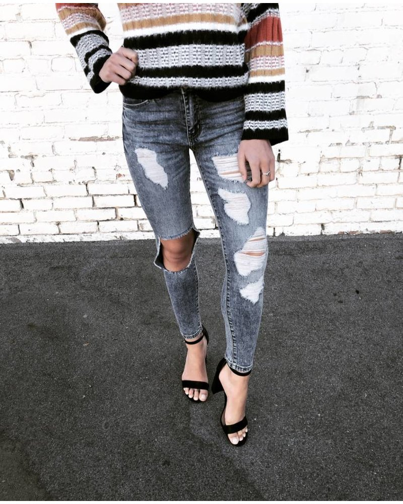 Sophia Distressed Denim