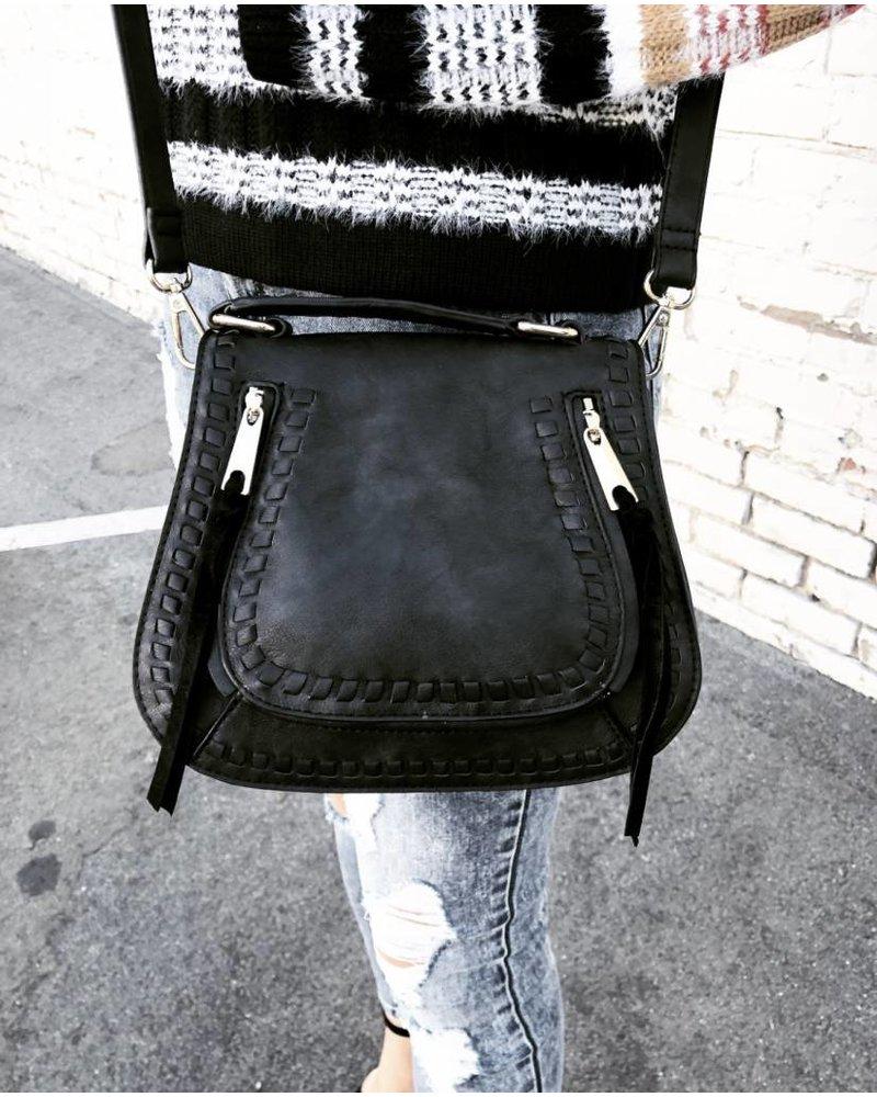 Rockland Black Handbag
