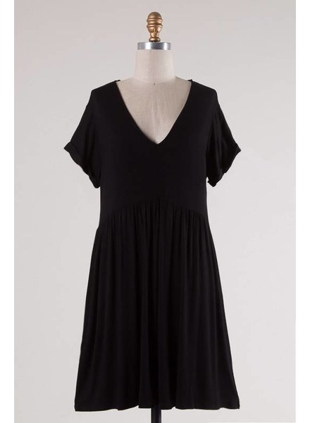 Augie Black Dress
