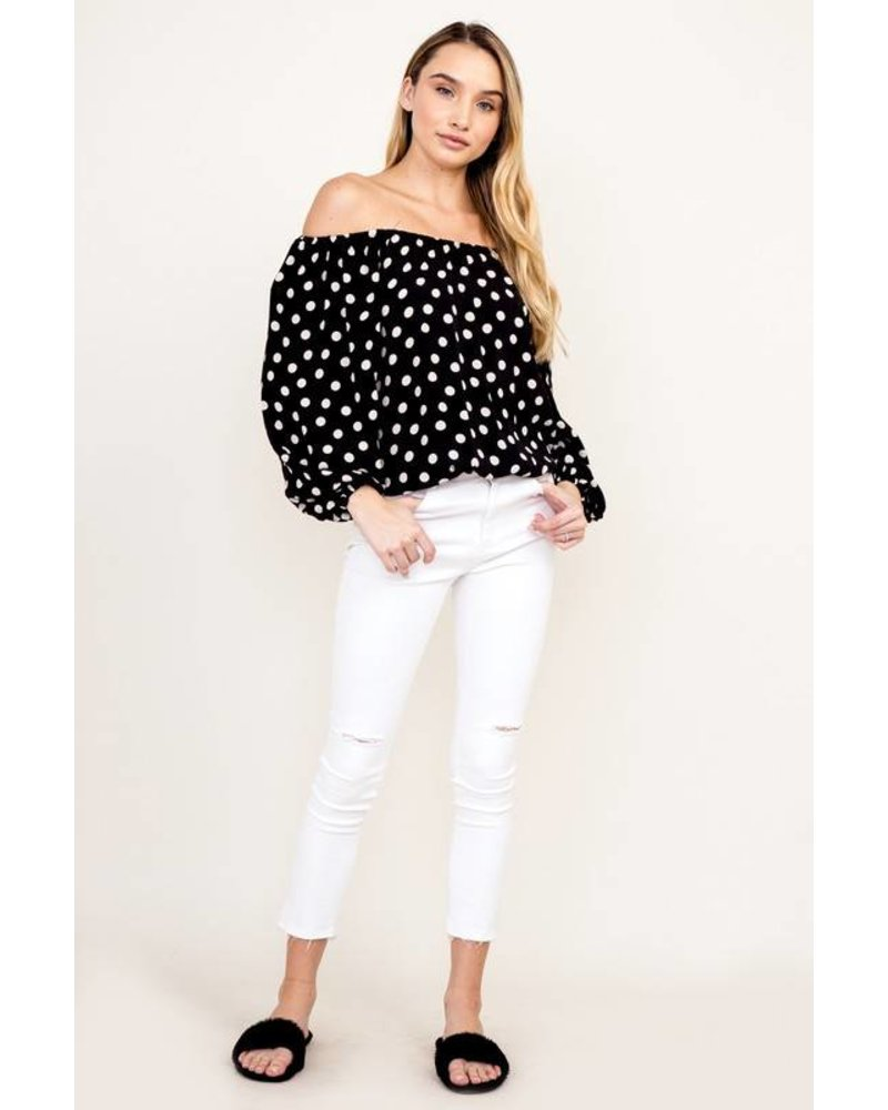 Potter Polka Top