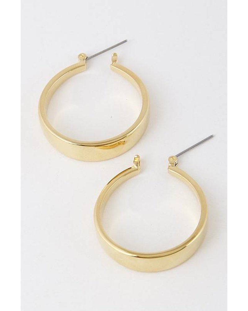 Highland Gold Hoops