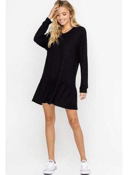 Hacci Hooded Dress