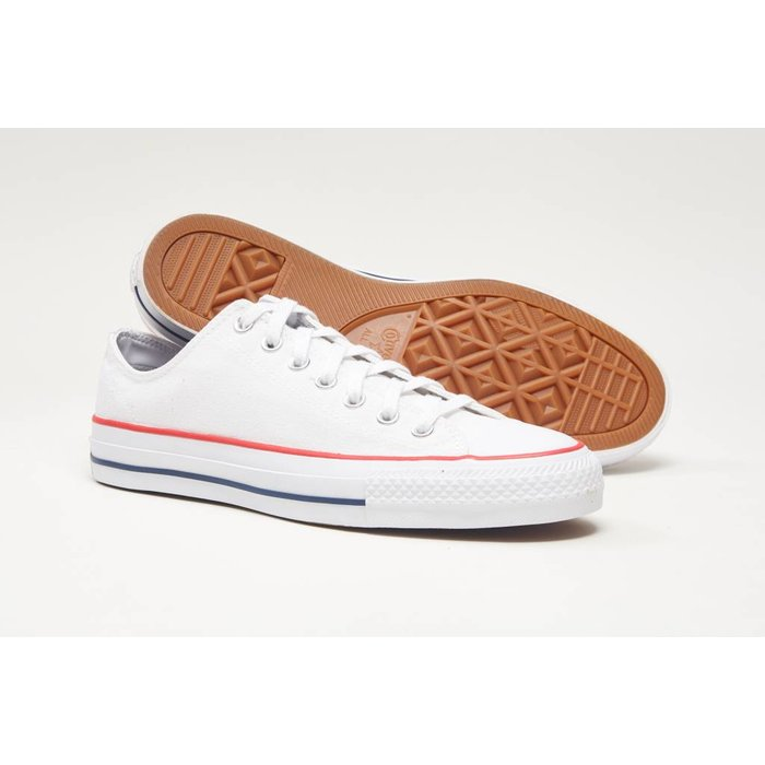 Converse CTAS Pro OX White/Red/<br /> Isignia Blue