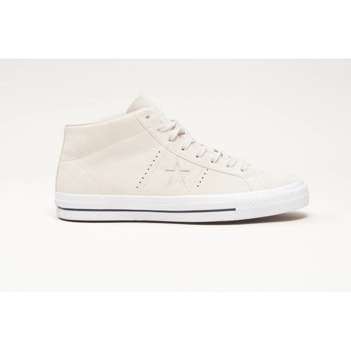 Converse One Star Pro Mid  Pale Putty/Pale Putty