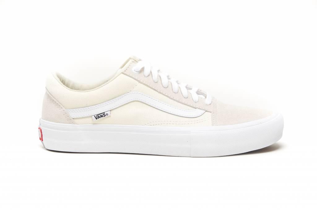 4752f1359e Vans MN Old Skool Pro White - KCDC Skateshop