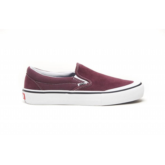 VANS - MN Slip-On Pro Raisin/White