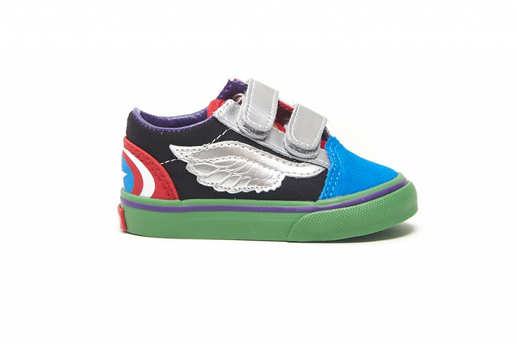 Vans TD Old Skool V (MARVEL) br    AVENGE (MARVEL) - KCDC Skateshop 266839838