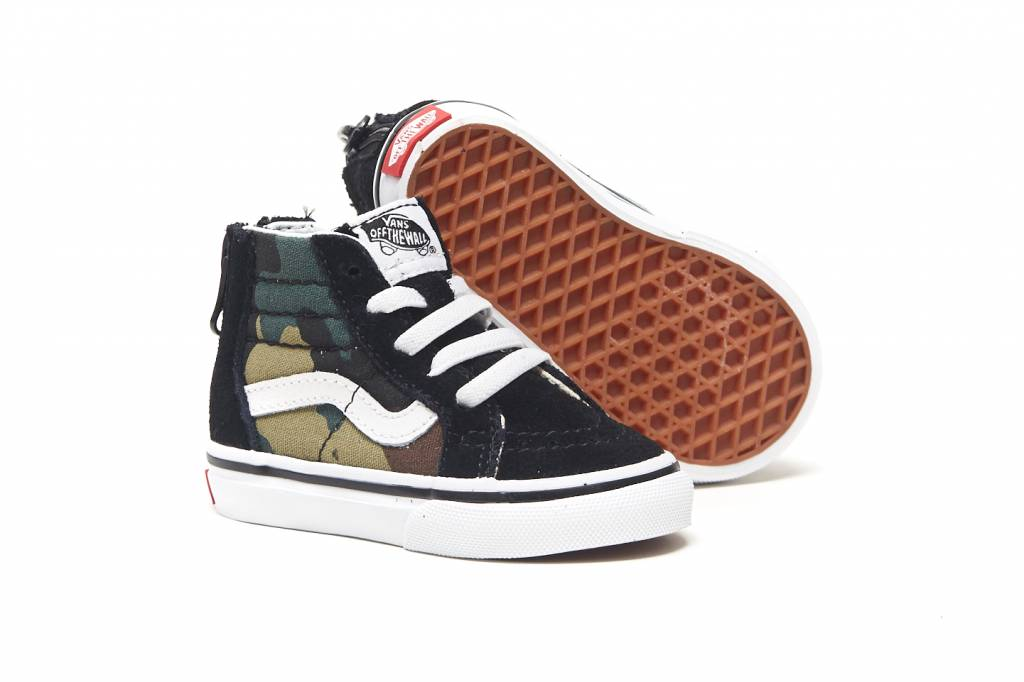 bbda65f623af Vans TD SK8-Hi Zip (WOODLAND br    CAMO) (WOODLAND - KCDC Skateshop