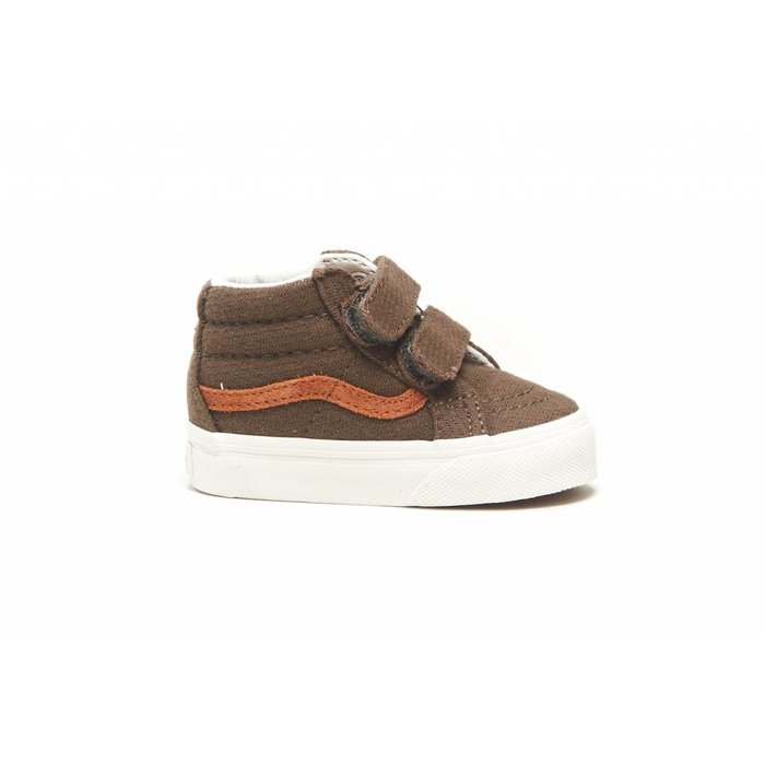 1c039a6d3ae Vans TD SK8-Mid Reissue V (FLANNEL) DUSTY