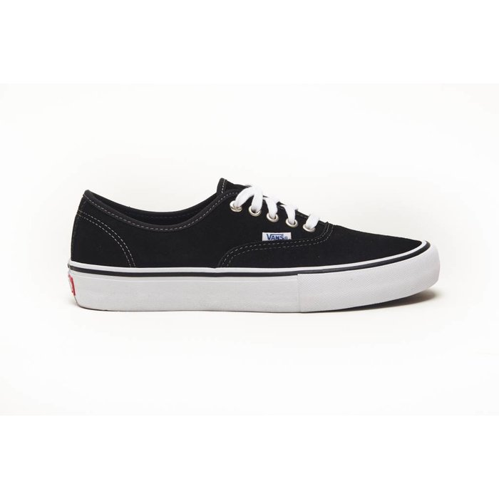 1b74ab8387d2 Vans MN Authentic Pro (suede) black - KCDC Skateshop