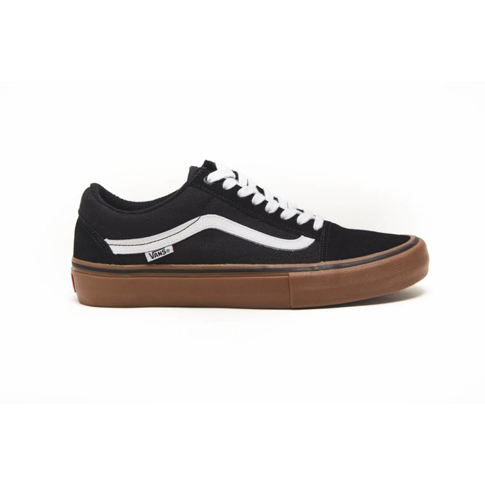 VANS - MN Old Skool Pro Black White Med Black W home 9326c1cbd