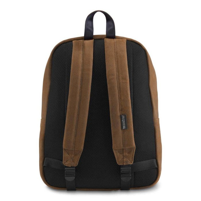 JanSport - Super Break Leather/Vintage Brown Leather