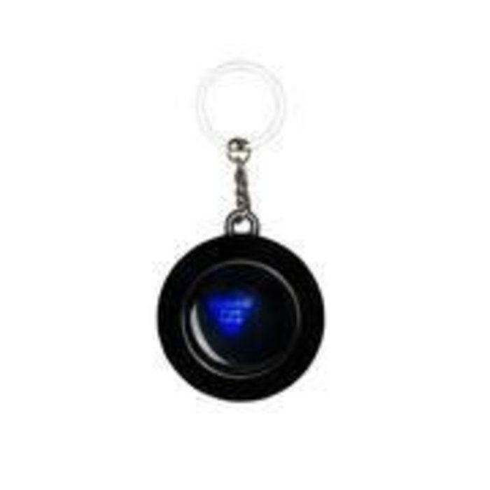 HUF - 8 Ball Keychain Black