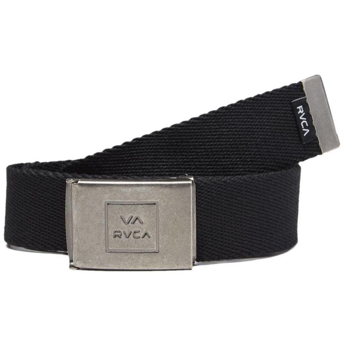 RVCA FALCON WEB BELT , BLACK, O/S