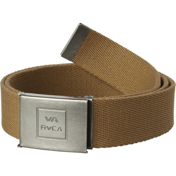 RVCA FALCON WEB BELT , BRONZE, O/S