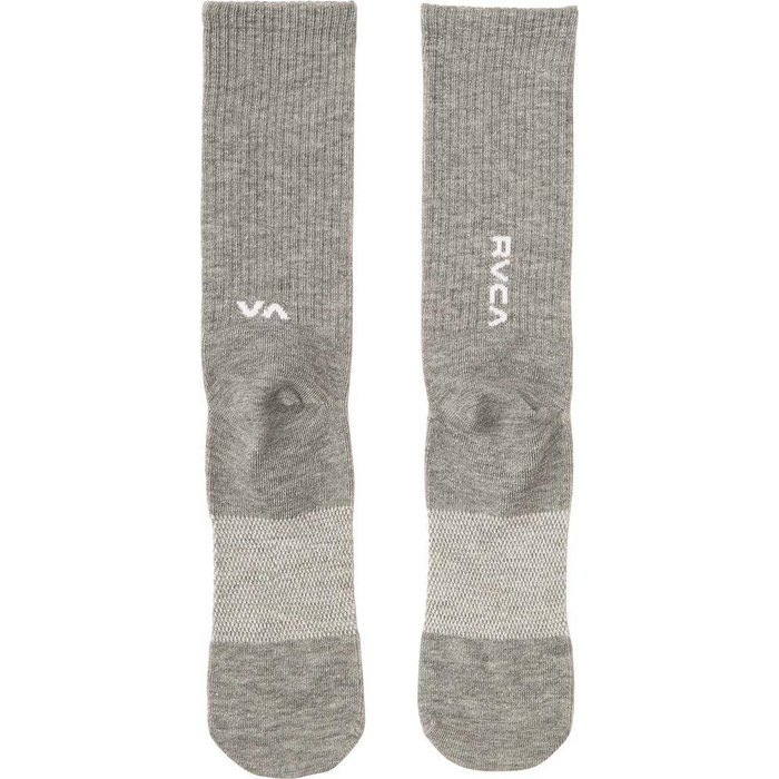 RVCA SPORT HI SOCK, HEATHER GREY, OS