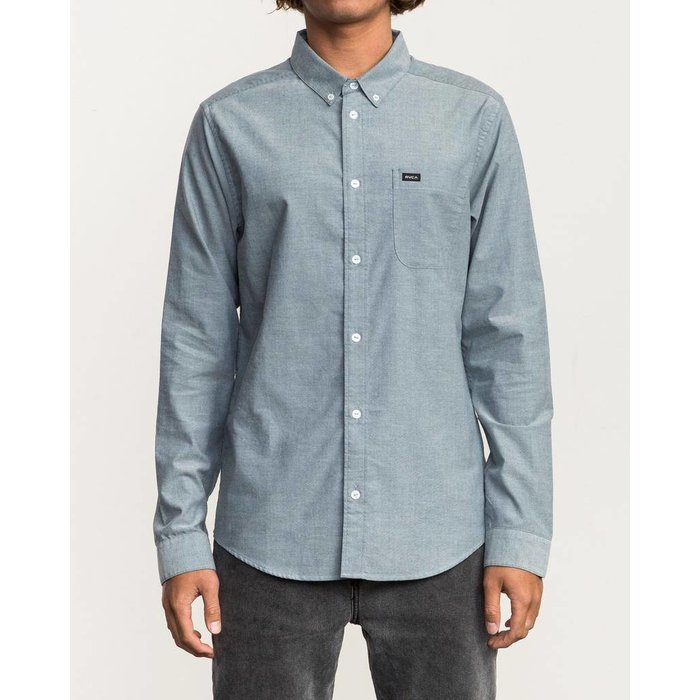 RVCA THAT'LL DO STRETCH LONG SLEEVE SHIRT